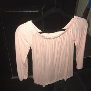 Off The Shoulder Shirt from Hollister